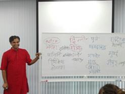 ヒンディー語授業風景1