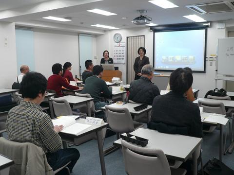 台湾語中級授業風景